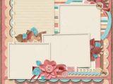 Free Online Scrapbooking Templates Retro Family Album 365 Project Scrapbooking Templates