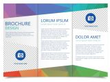 Free Online Templates for Brochures Tri Fold Brochure Vector Template Download Free Vector