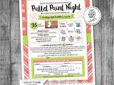 Free Paint Night Flyer Template event Flyer Printable Pta Fundraiser Ptn Pallet
