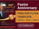 Free Pastor Appreciation Flyer Templates Free Pastor Anniversary Flyer Psd Template Designyep
