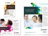 Free Pediatric Brochure Templates Pediatric Doctor Flyer Ad Template Design