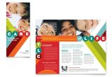 Free Pediatric Brochure Templates Pediatrician Child Care Brochure Template Design