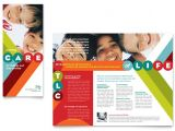 Free Pediatric Brochure Templates Pediatrician Child Care Brochure Template Design