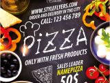 Free Pizza Flyer Template Design Download the Pizza Restaurant Free Flyer Template for