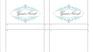 Free Placecard Template How to Make Your Own Place Cards for Free with Word and