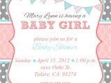 Free Printable Baby Shower Invitation Templates for A Girl Loca Date Time Line About Diaper Raffle Spa Prize