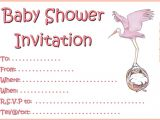 Free Printable Baby Shower Invitation Templates for A Girl Template Baby Free Printable Shower Invitations Pink