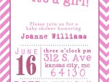 Free Printable Baby Shower Invitation Templates for A Girl Template Free Printable Baby Shower Girl Invitation