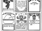 Free Printable Bookplates Templates Antique Book Plates Confessions Of A Bookplate Junkie Sc