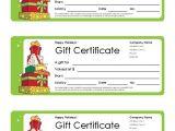 Free Printable Christmas Gift Certificate Template Word Free Gift Certificate Template and Tracking Log