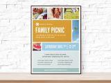 Free Printable Church event Flyer Templates Diy Printable Picnic Collage event Template Flyer for Church