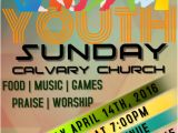 Free Printable Church event Flyer Templates Youth Church Template Postermywall