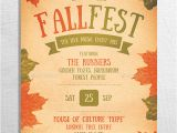 Free Printable Fall Festival Flyer Templates Fall Festival Flyer Poster by Be Cool Graphicriver