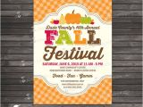 Free Printable Fall Festival Flyer Templates Fall Festival Invitation Printable Harvest Festival