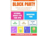 Free Printable Flyers Templates Download This Block Party Flyer Template and Other Free