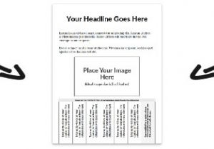 Free Printable Tear Off Flyer Templates Free Flyer Templates Online