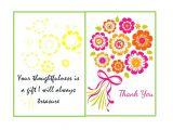 Free Printable Wedding Thank You Cards Templates 30 Free Printable Thank You Card Templates Wedding