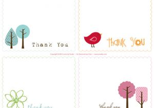Free Printable Wedding Thank You Cards Templates Free Printable Thank You Notes June Lily Design