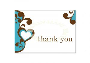 Free Printable Wedding Thank You Cards Templates Thank You Card Template Madinbelgrade