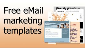 Free Promotional Email Templates Free Email Marketing Templates Email Marketing