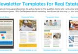 Free Real Estate Email Newsletter Templates 12 Best Real Estate Newsletter Template Resources Placester