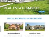 Free Real Estate Email Newsletter Templates Free Real Estate Email Newsletter Template In Adobe