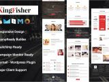 Free Responsive Email Template Mailchimp Kingfisher Responsive Email Template Email Templates