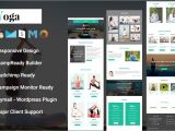 Free Responsive Email Template Mailchimp Yoga Responsive Email Template Mailchimp Templates