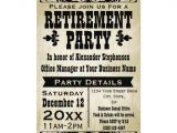 Free Retirement Templates for Flyers Custom Vintage Country Retirement Party Invitation Flyer