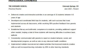 Free Sample Resume for Teachers 51 Teacher Resume Templates Free Sample Example format