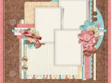 Free Scrapbooking Templates to Download Retro Family Album 365 Project Scrapbooking Templates
