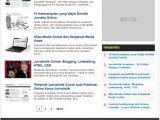 Free Seo Optimized Blogger Template Jurnalistik Seo Optimized Fast Loading Blogger Template