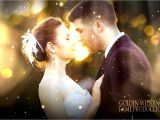 Free sony Vegas Wedding Templates sony Vegas Golden Wedding Ll Free Template sony Vegas