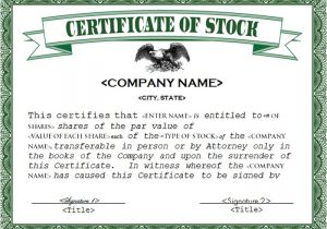 Free Stock Certificate Template Microsoft Word 21 Stock Certificate Templates Free Sample Example