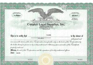 Free Stock Certificate Template Microsoft Word 40 Free Stock Certificate Templates Word Pdf