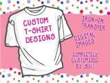 Free T Shirt Transfer Templates Custom T Shirt Designs Iron On Transfer Print at Home Free