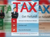 Free Tax Preparation Flyers Templates Tax Refund Flyer Template Flyer Templates Creative Market