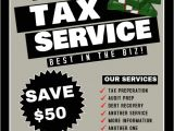 Free Tax Preparation Flyers Templates Tax Service Template Postermywall