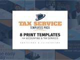Free Tax Preparation Flyers Templates Tax Service Templates Pack Flyer Templates Creative Market