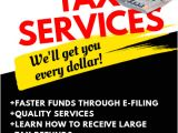 Free Tax Preparation Flyers Templates Tax Services Flyer Template Postermywall