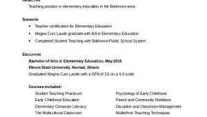 Free Teacher Resume Templates 50 Teacher Resume Templates Pdf Doc Free Premium