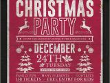 Free Template for Holiday Party Flyer 35 Christmas Flyers Psd Vector Eps