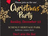 Free Template for Holiday Party Flyer Christmas Party Flyer Template Postermywall