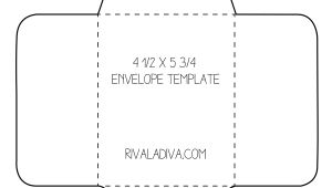 Free Templates for Envelopes to Print Free Envelope Printing Template Calendar Template Letter