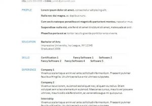 Free Templates for Resumes On Microsoft Word 34 Microsoft Resume Templates Doc Pdf Free Premium