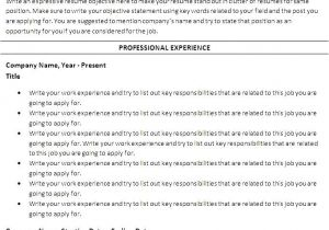 Free Templates for Resumes On Microsoft Word Free Chronological Resume Template Microsoft Word Free