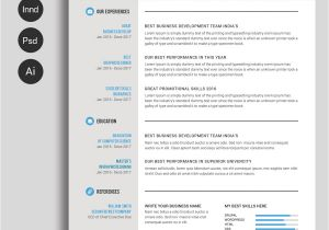 Free Templates for Resumes On Microsoft Word Free Ms Word Resume and Cv Template Free Design Resources