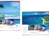 Free Travel Brochure Templates for Microsoft Word Cruise Travel Poster Template Word Publisher