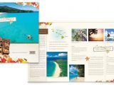 Free Travel Brochure Templates for Microsoft Word Hawaii Travel Vacation Brochure Template Design