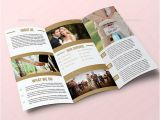 Free Tri Fold Wedding Brochure Templates 25 Wedding Program Brochure Templates